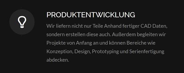 3D Produktentwickung