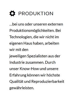 3D Produktion im Raum  Hagen (Teutoburger Wald)