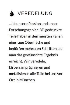 3D gedruckte Teile veredelung im Raum 49170 Hagen (Teutoburger Wald)