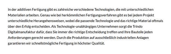 Additive Fertigungsverfahren in der Nähe von  Niedersachsen