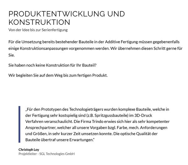 Produktentwicklung Konstruktion bei  Hagen (Teutoburger Wald)